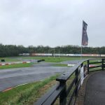 Gokart banen på Roskilde Racing Center